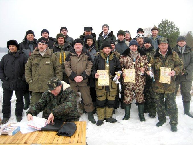 На річці Гнилий Ріг відбулися змагання зі спортивної риболовлі з льоду на приз «Клубу рибалок-аматорів ВП ХАЕС»