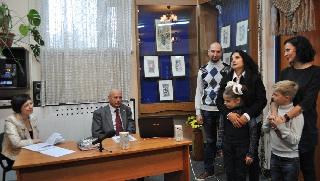 Почесному громадянину Нетішина П.Кальніченку виповнилось 70